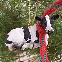 Holstein Cow Original Ornament