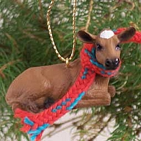 Guernsey Cow Original Ornament