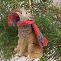 Coyote Original Ornament