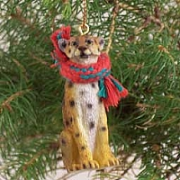 Cheetah Original Ornament