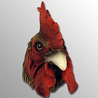 Brown Rooster Magnet