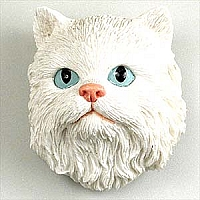 White Persian Magnet