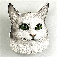 Silver Tabby Maine Coon Cat Magnet
