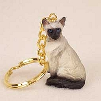 Siamese Key Chain