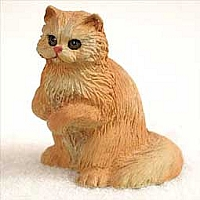 Red Persian Tiny One Figurine