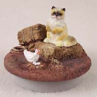 Ragdoll Cat Candle Topper Tiny One