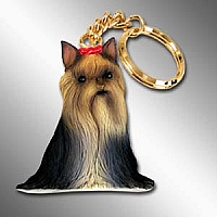 Yorkshire Terrier Best Friends Key Chains