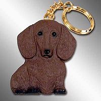 Dachshund Red Best Friends Key Chains