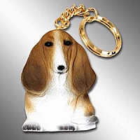 Basset Hound Best Friends Key Chains