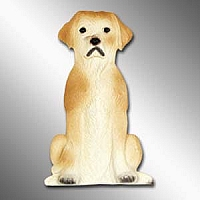 Labrador Retriever Yellow Best Friend Magnet