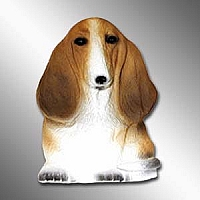 Basset Hound Best Friends Magnet