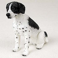 Pointer Black & White Standard Figurine