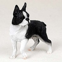 Boston Terrier Standard Figurine