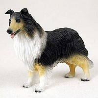 Collie Tricolor Standard Figurine