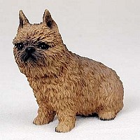 Brussels Griffon Red Standard Figurine