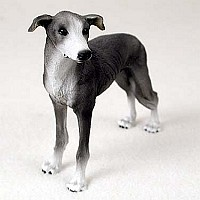 Greyhound Blue Standard Figurine