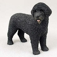 Portuguese Water Dog Standard Figurine