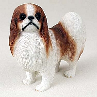 Japanese Chin Red White