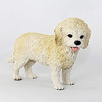 Cockapoo Blond Standard Figurine