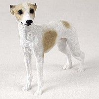 Whippet Tan White