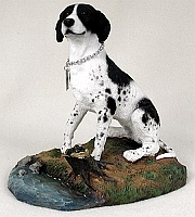 Pointer Black & White My Dog Figurine