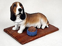 Basset Hound My Dog Figurine