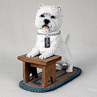 West Highland Terrier My Dog Figurine