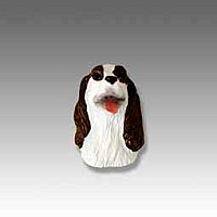 Springer Spaniel Liver & White Tiny One