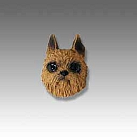 Brussels Griffon Red Tiny One head