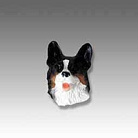 Welsh Corgi Cardigan Tiny One head