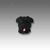 Bouvier des Flandres Tiny One head