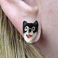 Alaskan Malamute Earrings Post