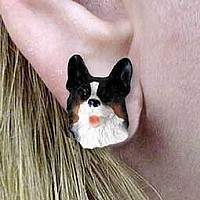 Welsh Corgi Cardigan Earrings Post