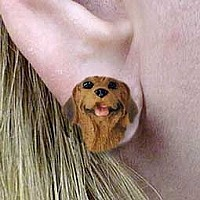Rhodesian Ridgeback Earrings Post