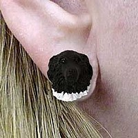 Landseer Earrings Post