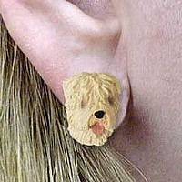 Soft Coated Wheaten Earrings Post
