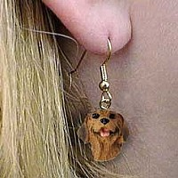 Rhodesian Ridgeback Earrings Hanging