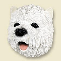 West Highland Terrier Doogie Head