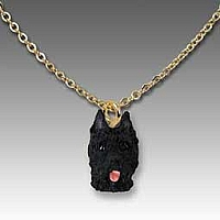 Bouvier des Flandres Tiny One Pendant