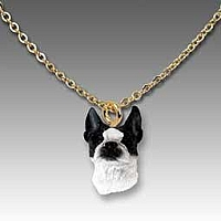 Boston Terrier Tiny One Pendant