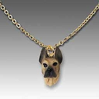 Great Dane Fawn Tiny One Pendant