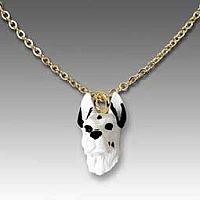 Great Dane Harlequin Tiny One Pendant