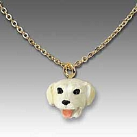 Labrador Retriever Yellow Tiny One Pendant