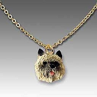 Cairn Terrier Red Tiny One Pendant