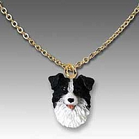 Border Collie Tiny One Pendant