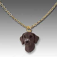 German Short Haired Pointer Tiny One Pendant
