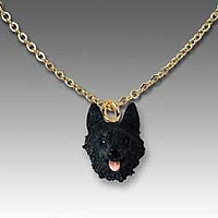Schipperke Tiny One Pendant