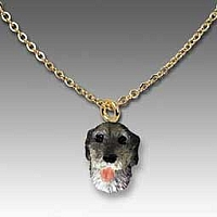 Irish Wolfhound Tiny One Pendant