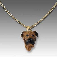 Bullmastiff Tiny One Pendant