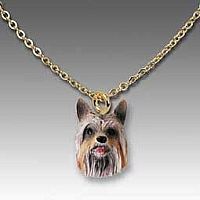 Silky Terrier Tiny One Pendant